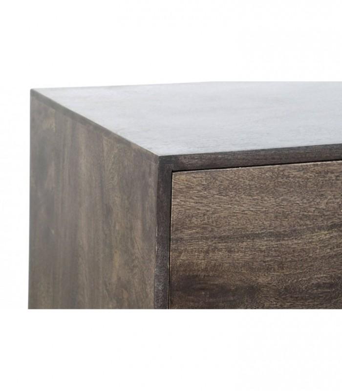 SILLA URSULA Blanco patina 48x60x97h