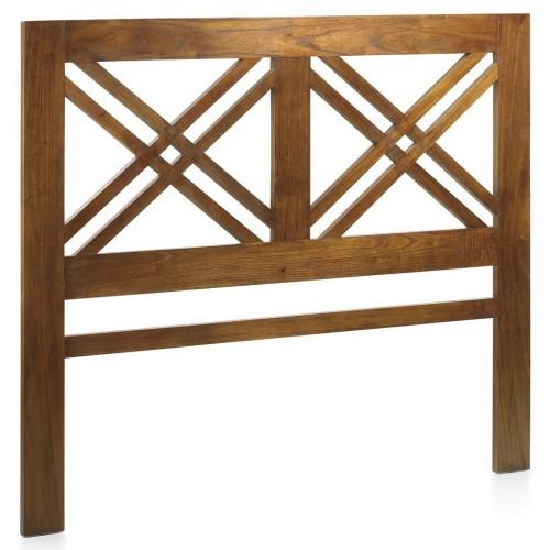 Cabecero Doble Cruz en madera maciza STAR
