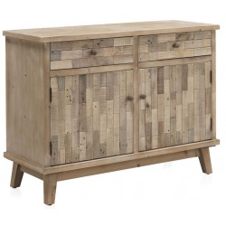 COMODA MADERA NATURAL RECICLADA