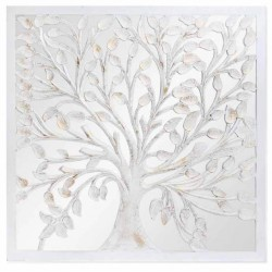 DECORACION PARED MDF CRISTAL ARBOL
